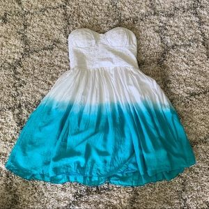 American Eagle Ombré Sundress